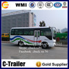 China Famous Brand Low price passenger bus 25 seats diesel bus for sale