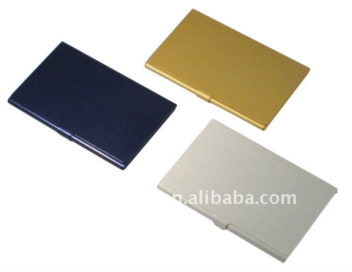 Aluminium Bussiness Name Card Case