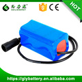 Rechargeable 4000mAh 7.4V 18650 Li-ion Battery For LED Solar Light