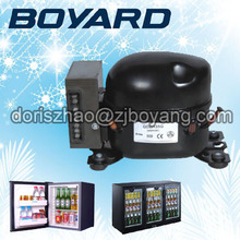 zhejiang boyard r134a 24V 12v dc air conditioner refrigerator compressor QDZH25G for mobile refrigerator