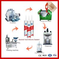 machine for of insulating glass silicone sealant