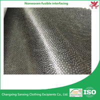 Nonwoven fusible interlining W85