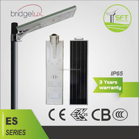 3 Year Warranty Outdoor Waterproof Ip65 High Lumen Motion Sensor Led Solar Street Light