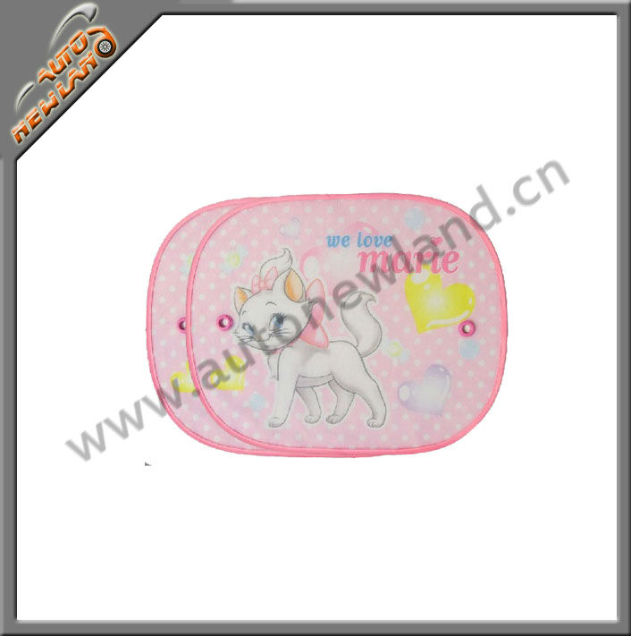 Car sun shield made from bubble 44*36cm