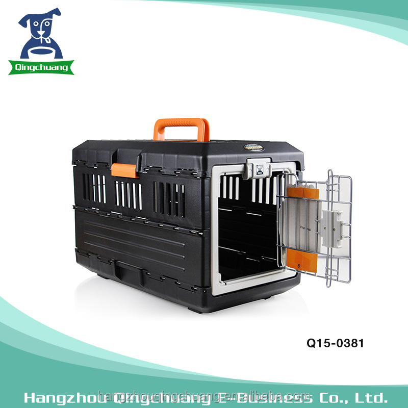Popular products pet air box design foldable and portable dog carrier pet bag with travel pocket
