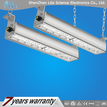 led linear high bay light, wiring through, suspended and surface mounted, Motion sensor and Zigbee