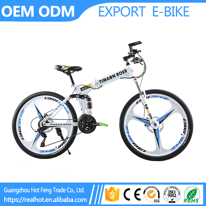 26 inch Best Quality Lightweight Wholesale Outdoor Folding 24 speed Portable mountain cycle