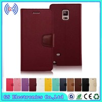 Mercury Goospery Sonata Wallet For iPhone 4G 5G 6G 5C Magnetic Flip Stand TPU+PU Leather Case