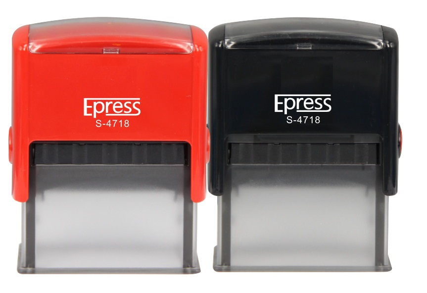 Hot sale Epress model S-4718 office stamps, self-inking rubber stamp, custom rubber stamps, wedding rubber stamps