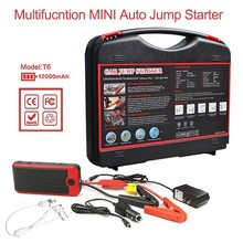 Power Bank 12000mah Car Jump Starter Multi-function Charger Starter Great Quality