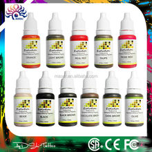 0.5Oz/bottle evolution permanent makeup pigment, 12 colors pure plant cheap eyebrow tattoo ink, hot permanent makeup ink