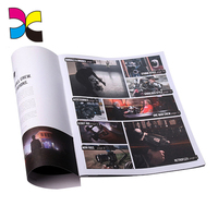 Custom Brochure /company manual book/booklet printing