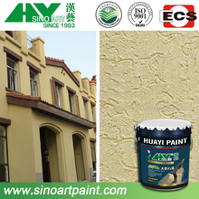 Hot selling polyurethane stucco finish coating/paint in building