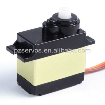 PZ 12g Analog Servo with Alu Case for 450 Helicopters, Airplane propeller