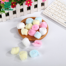 Makeup Colorful Bulk wholesale alcohol absorbent cotton ball
