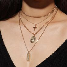 Fashion cheap gold pendant necklace for Promotions Wholesale N800196
