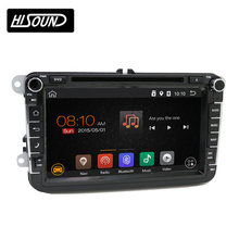 Pure android 6.0 system 8inch capacitive screen In dash car multimedia player dvd vw jetta