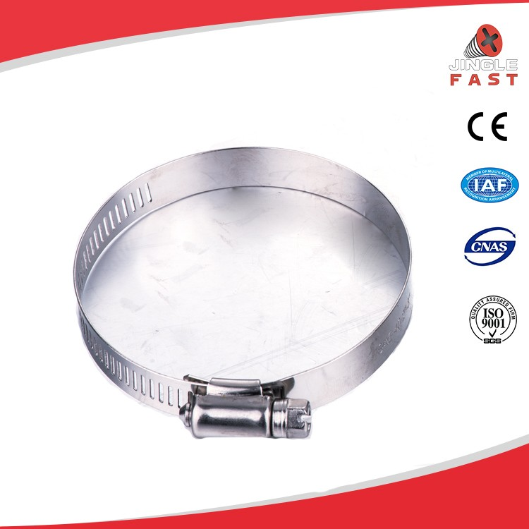 Wholesale stainless steel 304 american galvanized hose clamp