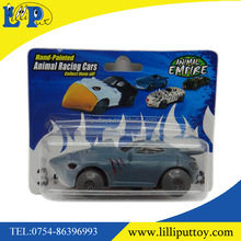 Creative toy car small size sport car racing car with shark