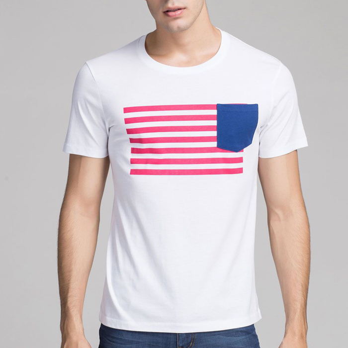 Casual chest pocket new york wholesale t shirts buy new for Bulk pocket t shirts