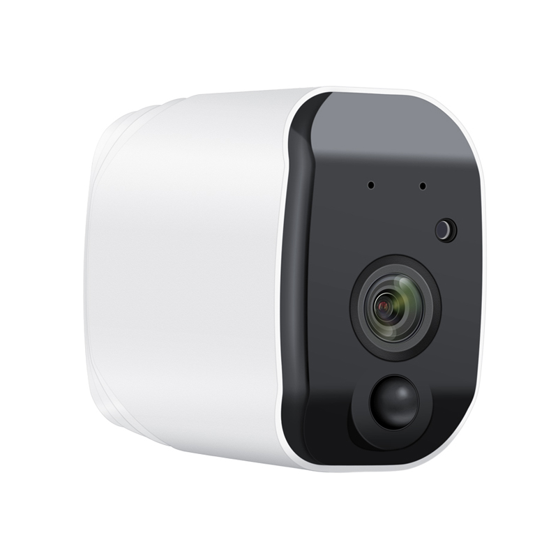 Rechargeable Battery Powered Security Camera Low Power Consumption IP Camera 1080P