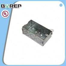 YGC-023 Waterproof metal material gfci outdoor cable tv junction box