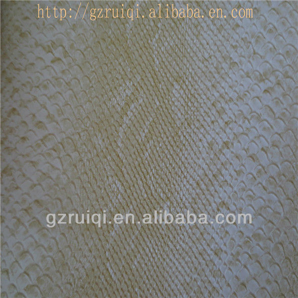 PVC Artificial Leather of Crocodile Patterns
