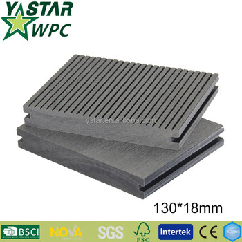 hot sales wpc composite decking alternative to wood deck