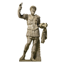 Famous life size solider statue antique marble statues for sale
