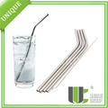 Reusable Metal Stainless Steel Cocktail Tumbler Drinking Straws