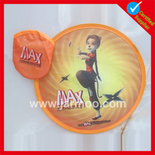 fashionable outdoor Customized Logo flying disc gun toy