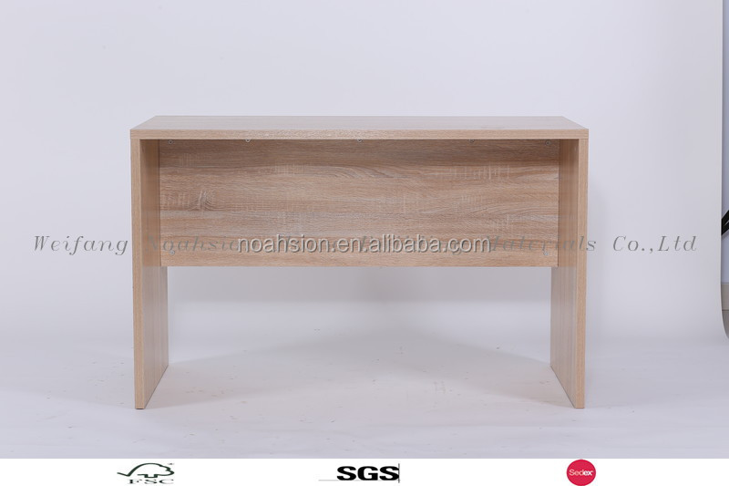 wooden classic study table storage computer