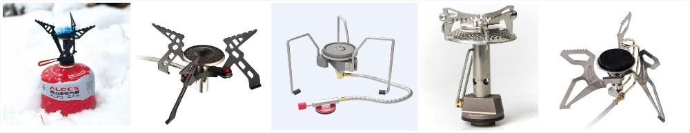 CS-G11 3000 w pliable mini bleu flamme seul brûleur cuisinière à gaz en plein air
