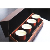 Luxury Glass Scented Candle Gift Set, Aroma Candle, Soy Wax Candle