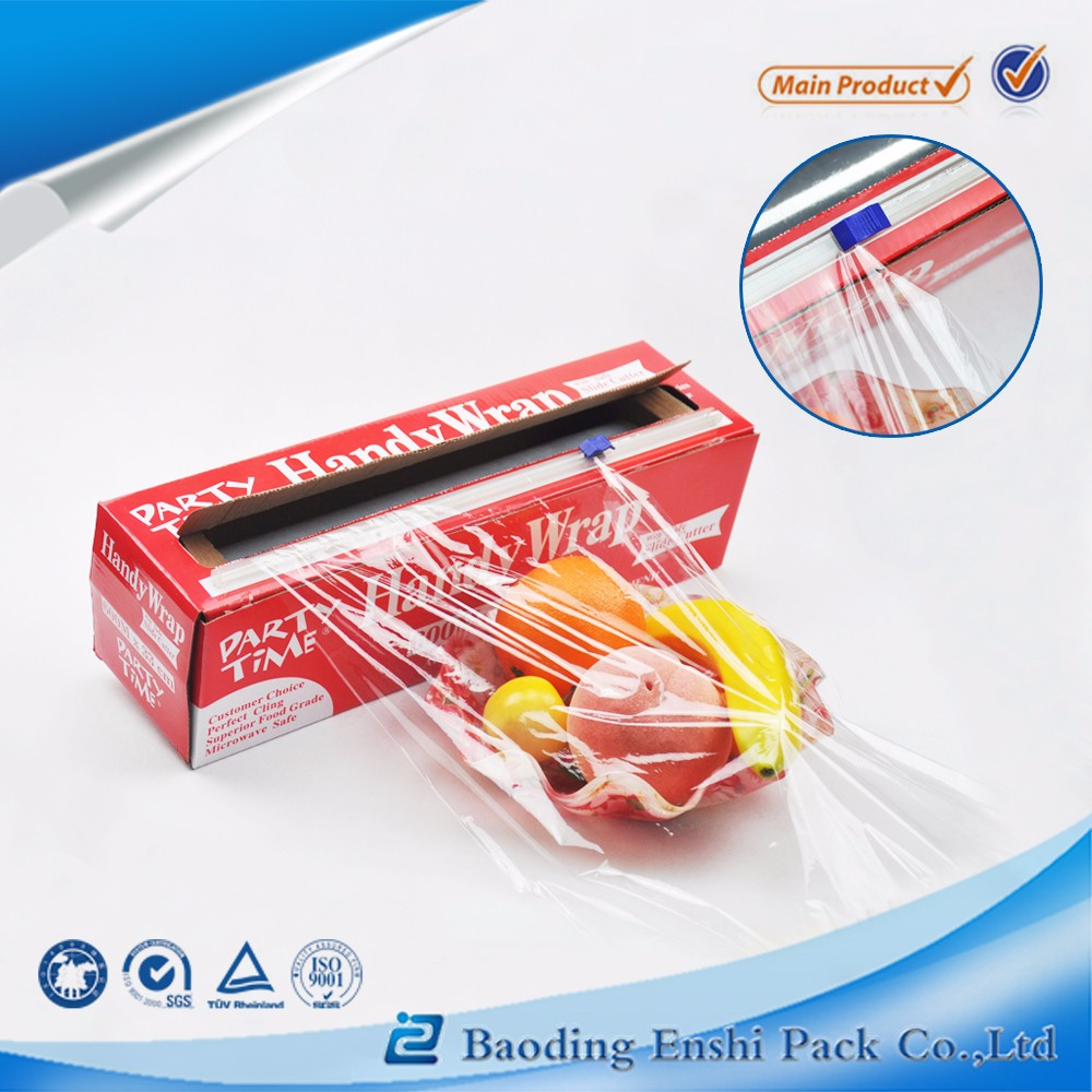 Pallet food packaging cling wrap pe stretch film with free sample