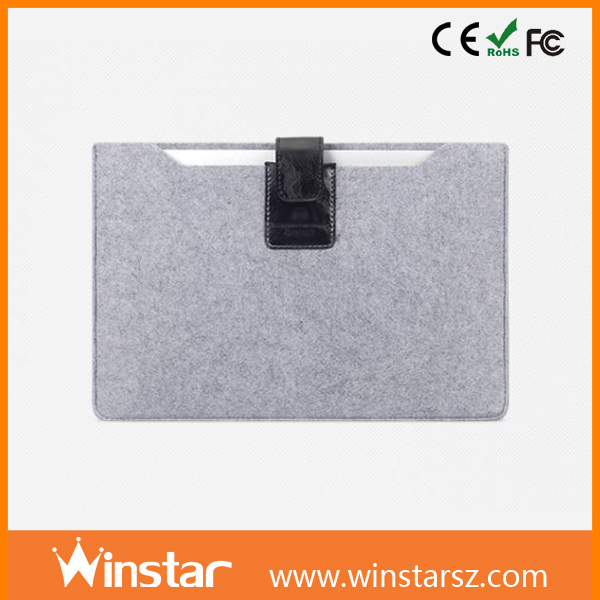 Multi-Color Felt Laptop Bag Cover Notebook Sleeve Case for ipad 2