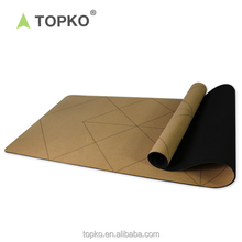 Wholeasle Eco Friendly Private Label Fitness Cork Rubber Yoga Mat