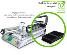 Led making machine TVM802B-X electronics production equipment SMT Pick and Place Machine, LED Production Line