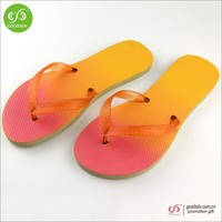 Shoe manufacturer supply high quality rubber plain slippers