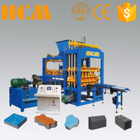 qt5-15 fully automatic concrete block making machine