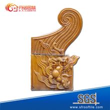 Chinese architecture products Decorative dragon head for building outdoor