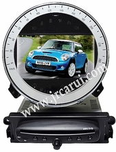 car navigation FOR BMW mini cooper ,RDS Telephone book,AUX IN,GPS,