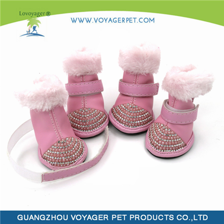 Lovoyager Hot selling classy leather dog boots with low price