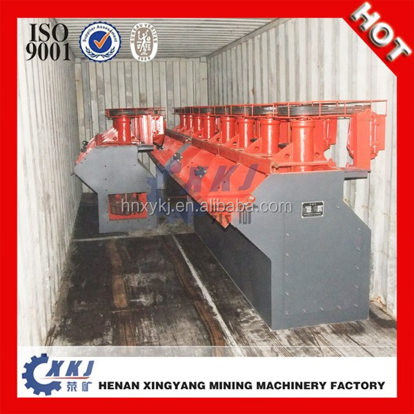 Automatic Suction Air Flotation Cell in Mineral Separating