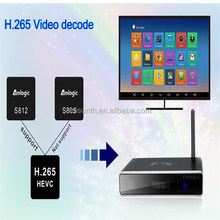 Video Playing Cheap Android Arabic Smart Tv Box S812 Quad Core A9 With Rca Output