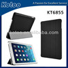 PU leather cover for ipad air smart case