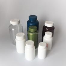 high quality boston round hdpe and pet plastic bottle with children proof cap CRC/normal screw cap