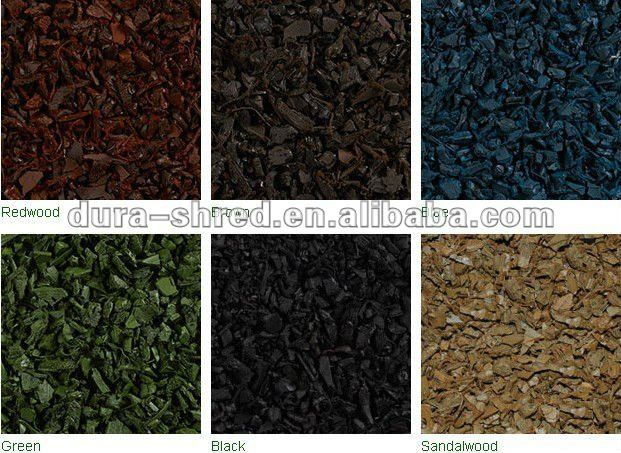 Colored Rubber Mulch