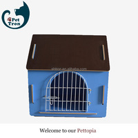 China gold supplier hot sale metal foldable pet cage