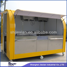 JX-FS290A good looking motor tricycle mobile food cart for sale